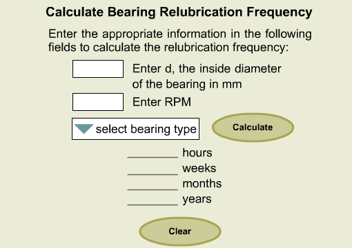 BearingRelubrication