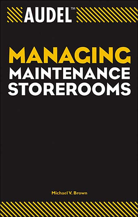 audel managing maintenance storerooms